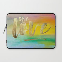 One Love, Ocean Sunrise 2 Laptop Sleeve
