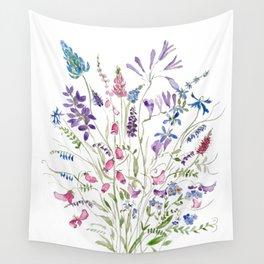 vintage wildflowers arrangement 2020 Wall Tapestry