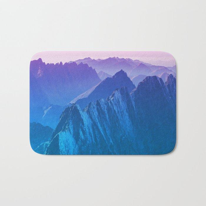 Mountains 2017 Bath Mat