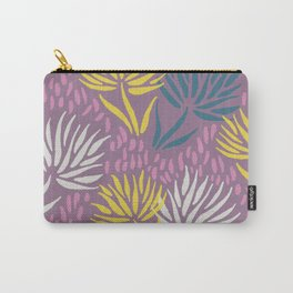 Wild Flowers <sand pink> Carry-All Pouch