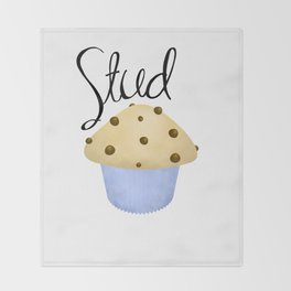 Stud Muffin Throw Blanket
