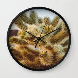 Cholla Cactus Garden IV Wall Clock