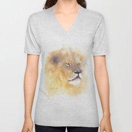 Lion of Judah Unisex V-Neck