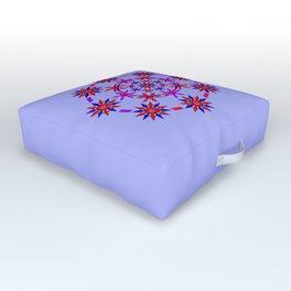 Shuriken Lotus Flower v3 Outdoor Floor Cushion
