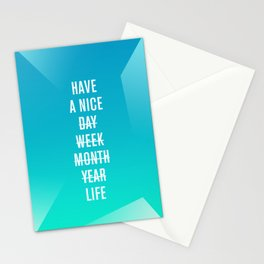 Nice Stationery Cards