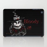 oz iPad Cases featuring Oz -Red by artlandofme