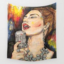 Jazz Singer 3 Wall Tapestry