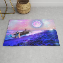 mermaid dreams Rug