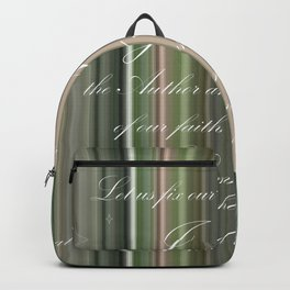Fix Our Eyes Backpack