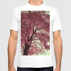 Autumn Blood Mens Fitted Tee White MEDIUM
