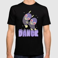 DANCE MEDIUM Black Mens Fitted Tee