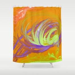 Tornado Shower Curtain