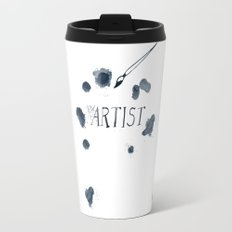 Artist paint splotch Travel Mug