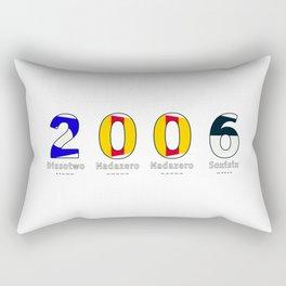 2006 - NAVY - My Year of Birth Rectangular Pillow