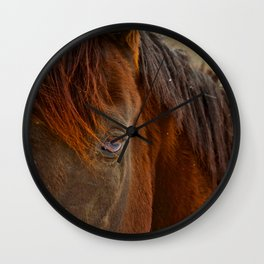 Window To The Soul Wall Clock