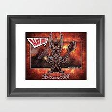The Sauron concept! Framed Art Print