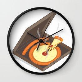 pizz.eye Wall Clock