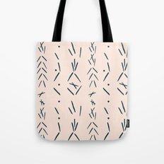 Spike Markings  Tote Bag