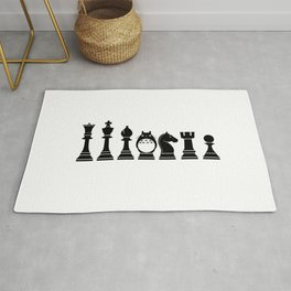 Chess Anime Character Rug