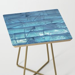 Ice Star Sculpture Side Table