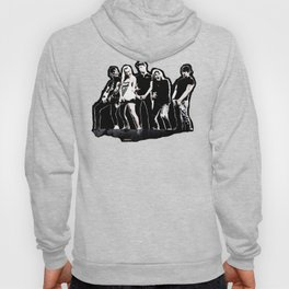 WARNER DRIVE - LIVE CURRENT WALL series - BLACK version Hoody