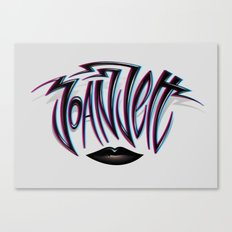 Joan Jett Tribute Canvas Print