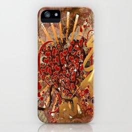 Ganz viel Liebe ... iPhone Case