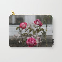 Rose Triangle Carry-All Pouch