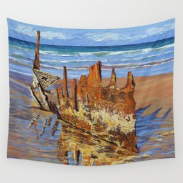 Beached Remains Wall Tapestry