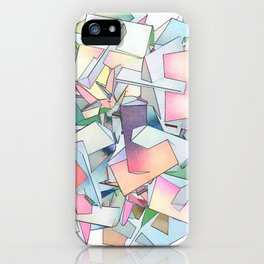 Intersection of Form and Color iPhone Case