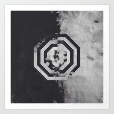 Pattern Drop II Art Print