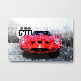250 GTO Metal Print