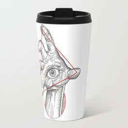 Our fate in whose hand? Travel Mug