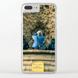 Sagrada Familia, Barcelona, Spain Clear iPhone Case