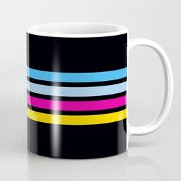 80's Love Retro Stripes Coffee Mug