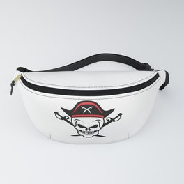 Pirate Skull Corsair Captain Outfit Fanny Pack