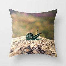 Slow Dream Throw Pillow