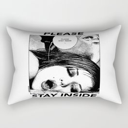 asc 949 - Les intimes #1 (Please stay inside #1)  Rectangular Pillow