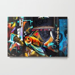Meeting of Styles Metal Print