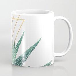 Succulent geometric Coffee Mug