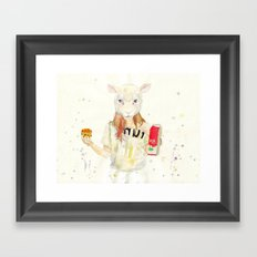 M¡lk Framed Art Print