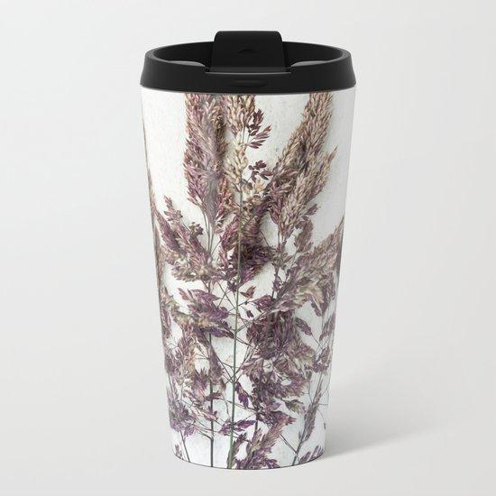 Velvet Grass Metal Travel Mug