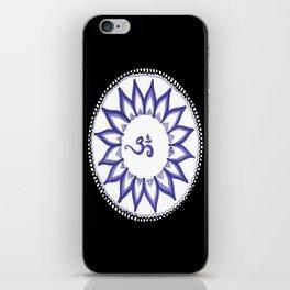 Ohm Flower iPhone Skin