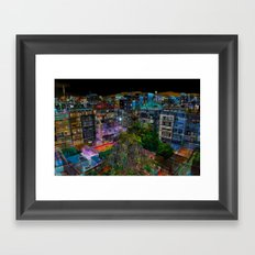 BAR#7511 Framed Art Print