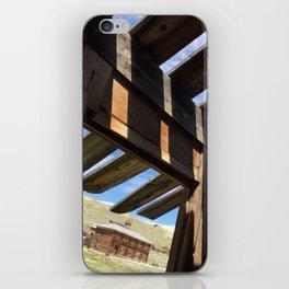 Ghost town barn iPhone Skin