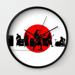 Japanese Band Wall Clock