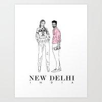New Delhi, India Art Print