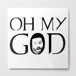 Oh My God Metal Print