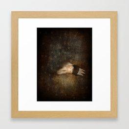 Sleeps with Stars Framed Art Print