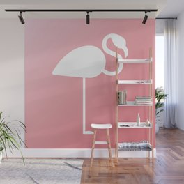 The Flamingo Wall Mural